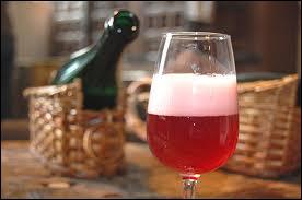 La bière belge  Kriek  est fabriquée en ... et fermentée avec des cerises.
