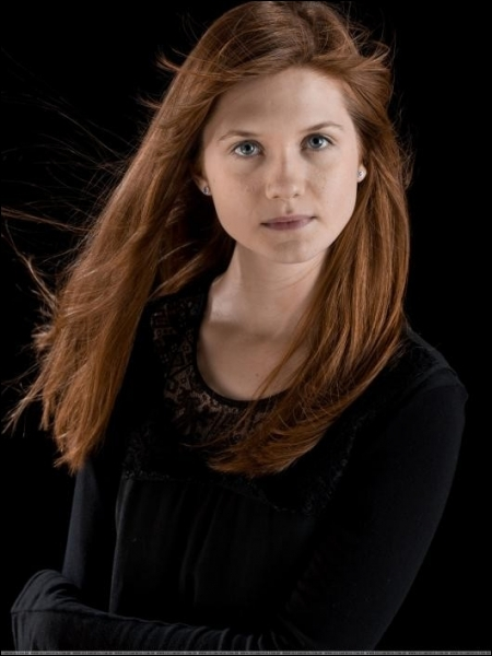 Comment s'appelle l'actrice qui incarne Ginny ?