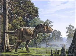 Le tyrannosaurus rex était l'un des dinosaures les plus féroces et le plus grand carnivore ayant vécu sur Terre . Il se déplaçait ?