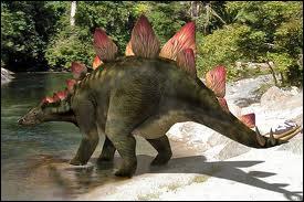 Le stégosaure était un dinosaure herbivore haut de plus de 3 mètres . Qu'avait-il sur le dos ?
