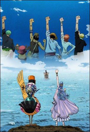 Quels personnages n'ont pas accepté de rejoindre la bande au chapeau de paille ?