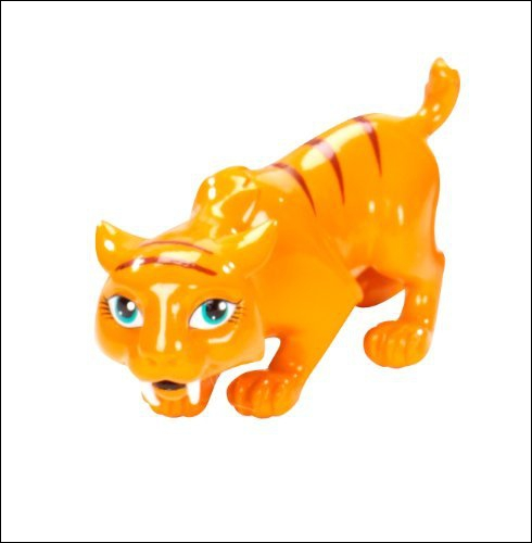 Comment s'appelle le tigre de Toralei ?
