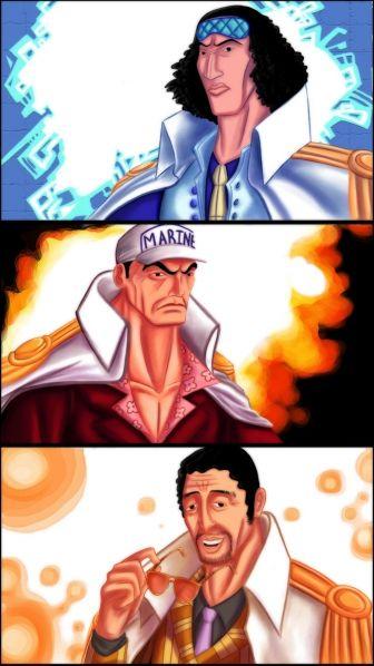 One Piece : la Marine et son organisation