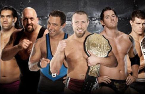 Qui est le vainqueur de 'l'Elimination Chamber' de SmackDown en 2012 ?