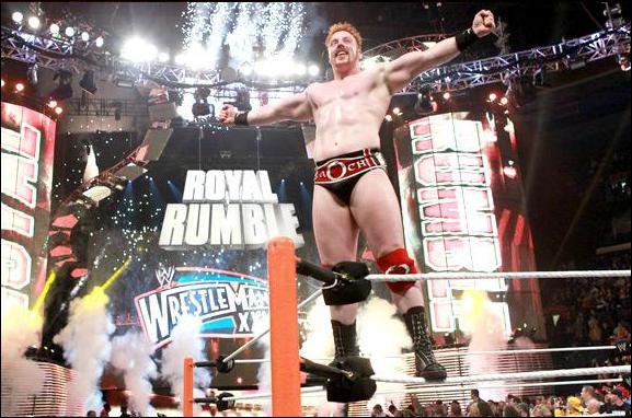 Qui a été le finaliste du Royal Rumble 2012 face au vainqueur ?