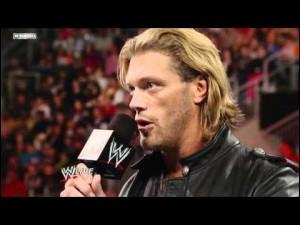 Qui était le dernier adversaire de Edge ?