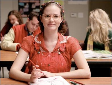 Je suis Suzy Pepper dans la série  Glee , dans  Grey's Anatomy  je suis ...