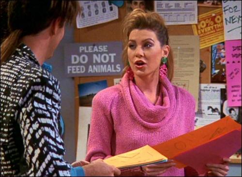 Je suis Missy Goldberg dans la série  Friends , dans  Grey's Anatomy  je suis ...