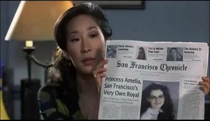 Je suis le vice principal Gupta dans  Princesse malgré elle  de Gary Marshall, dans  Grey's Anatomy  je suis ...