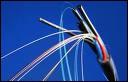 Quel est le diamètre de la gaine optique des fibres télécoms ?