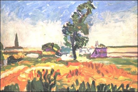Qui a peint Paysage de Toulouse ?