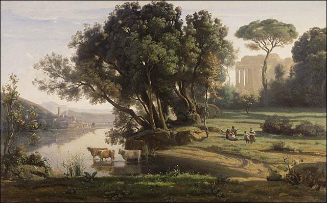 Qui a peint Paysage italien ?