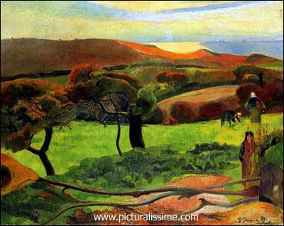 Qui a peint Paysage breton ?