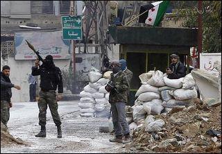 Quel quartier de Homs, en Syrie, a été particulièrement frappé par la répression de l'armée ?