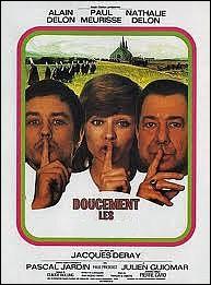 Doucement les ... ... Un rôle d'éclésiastique dans ce film de Jacques Deray de 1970