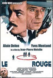 Le ... ... rouge. Policier avec Yves Montand et Bourvil de Jean-Pierre Melville