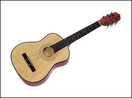 'guitare' est un mot :