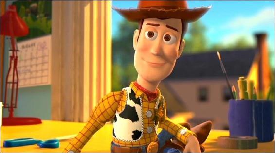 C'est l'un des principaux protagonistes de la trilogie  Toy Story  :