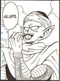 Pourquoi Piccolo avale-t-il cette bouteille ?