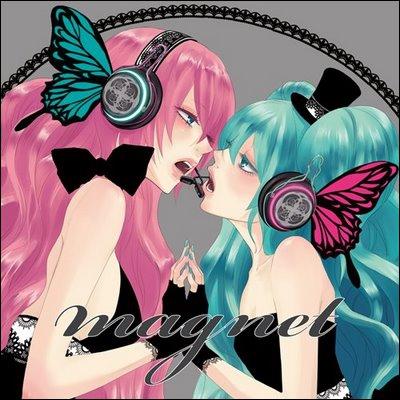 Avec quelles chanteuses Miku chante-t-elle  Magnet  et  Promise  en duo ?