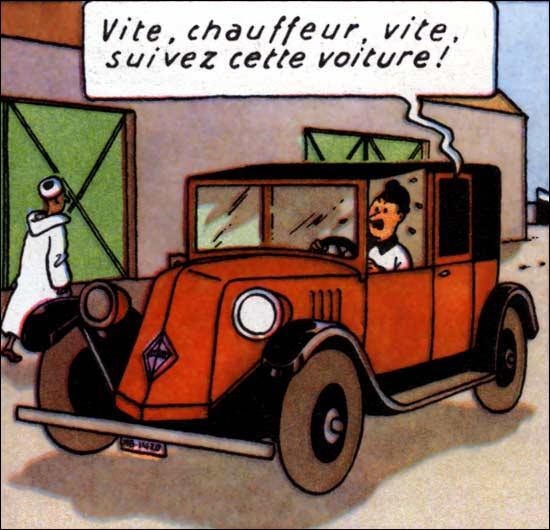 Dans cette aventure, Tintin se retrouve prisonnier sur le cargo Karaboudjan !