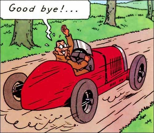 Dans cet album, Tintin rencontre La-Taupe-au-regard-perçant !