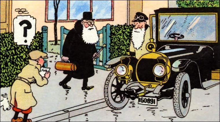 Tintin poursuit ses aventures au San Theodoros, république d'Amérique du Sud où il devient l'aide de camp du général Alcazar !