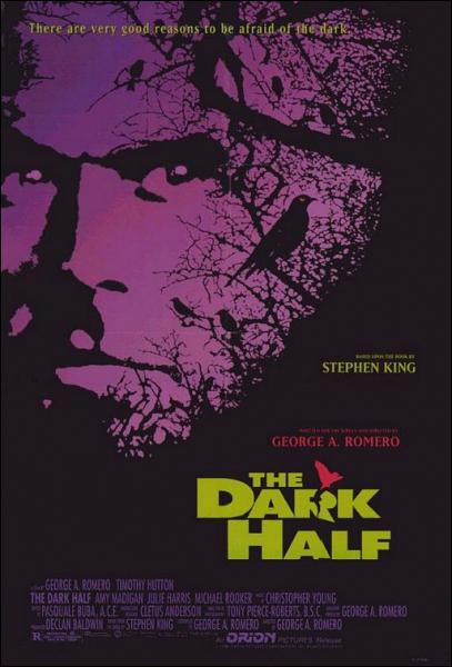 The Dark Half est un film de Georges Romero. Quel est le titre de l'oeuvre de Stephen King et de ce film en français ?