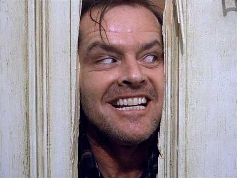 Quel est le titre de cette oeuvre de Stephen King, mit à l'écran par Stanley Kubrick ?