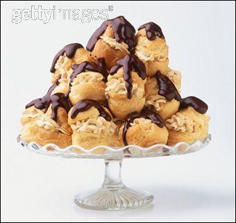 Un dessert très gourmand, les profiteroles sont :