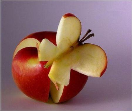 Quel est ce fruit sculpté ?