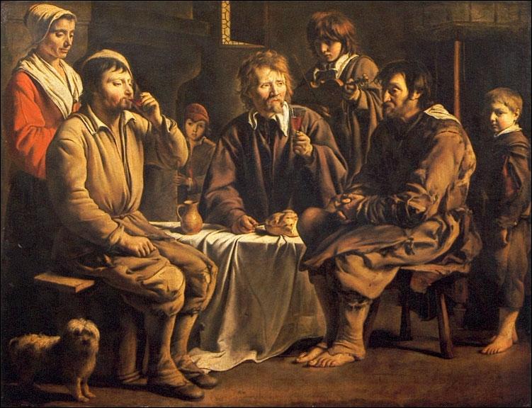 Quels frères ont peint de nombreuses scènes de la vie paysanne ?
