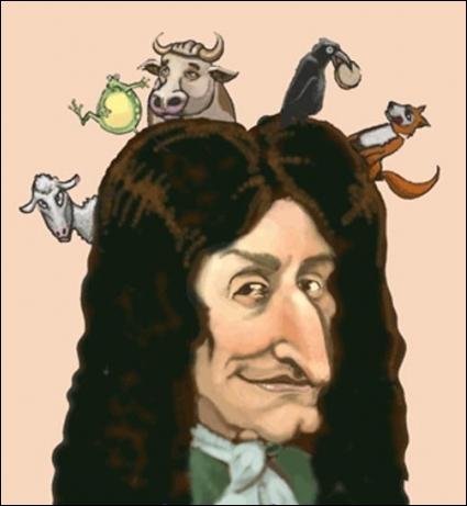 Quel homme de lettres est l'auteur de célèbres fables ?