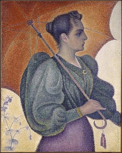 Qui a peint  Femme à l'ombrelle  ?
