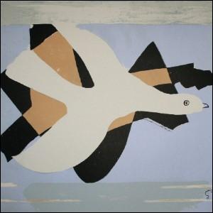 Qui a peint L'oiseau et son ombre ?