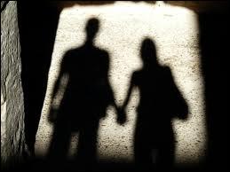 De qui sont ces paroles de chanson :  Moi qui voulait être ton ombre, je serai l'ombre de moi-même ma main de ta main séparée  ?