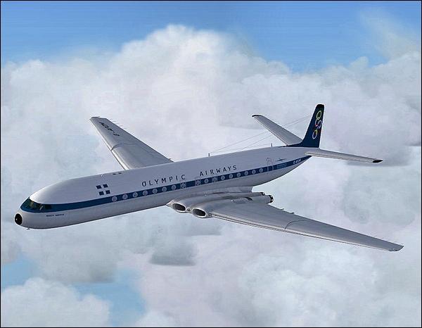 Cet appareil britannique, est historiquement le premier avion commercial propulsé par des turboréacteurs.