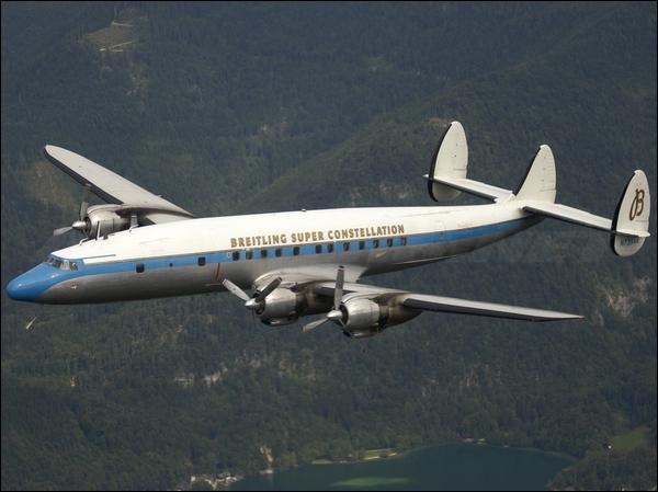 Ce quadrimoteur américain construit de 1943 à 1958 fut surnommé  Connie .