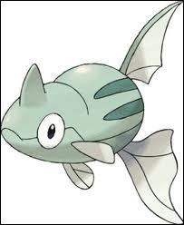 Quel est ce Pokémon de type Eau ?