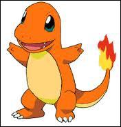 Quel est ce Pokémon starter de type Feu ?