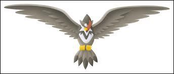 Quel est ce Pokémon de type Vol, évolution d'Étourvol ?