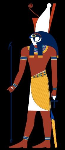 Dieu du ciel, des pharaons, de la guerre et de la protection .