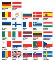 Combien y a-t-il de drapeaux ?