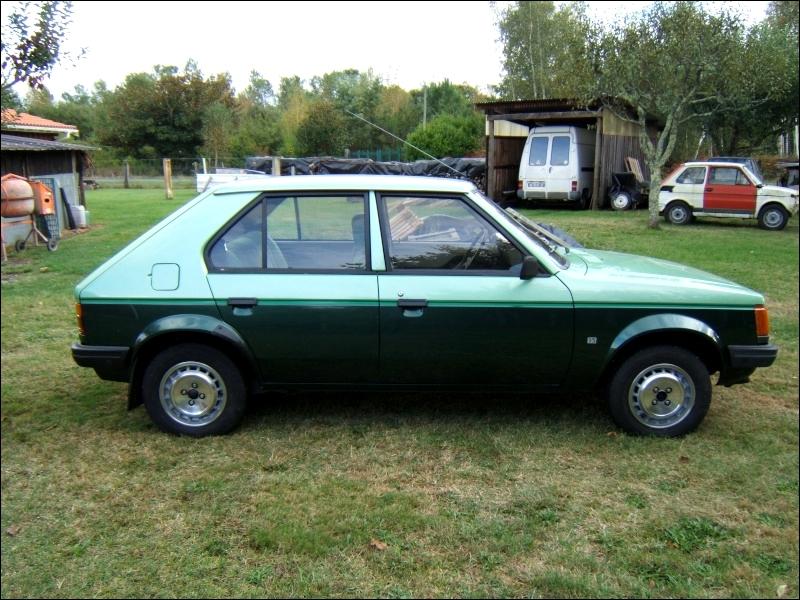 Sa remplaçante, qui devait s'appeler Talbot Arizona, est lancée en 1985, mais sous le nom de Peugeot 309.