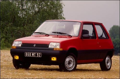 Elle fut remplacée par la Renault Clio en 1990.