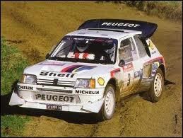 Voiture mythique de l'histoire du sport automobile, grâce à sa version Turbo 16.