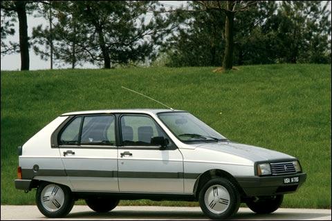 Citroën produite entre 1978 et 1988.