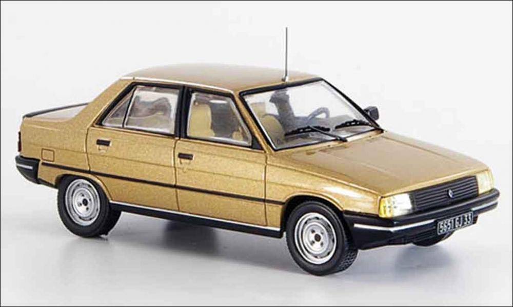 Jumelle de la Renault 11 (sans hayon).
