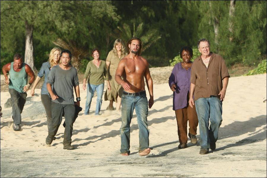 Les Exilés  : Qui se retrouve isolé du reste du groupe sur l'île ?