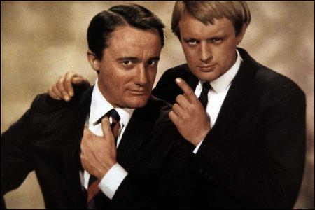 Napoleon Solo (Robert Vaughn) et Illya Kuryakin (David McCallum) étaient ''Des agents très spéciaux'' qui travaillaient pour...